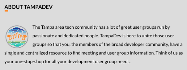 Tampa Code Camp about